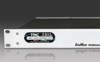 TDC3303e Time Code Distribution Chassis